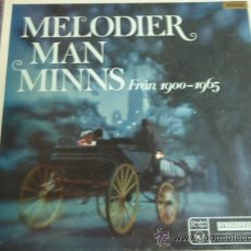 Discos de vinilo: MELODIER MAN MINNS FRAN 1900 - 1965 CAJA CON 10LP USA 'OFERTA'. Lote 9195866