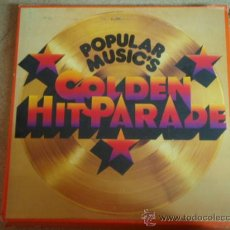Discos de vinilo: POPULAR MUSIC'S ' GOLDEN HIT PARADE DESDE 1960 A 1973 ' CAJA DE 8 LP 'OFERTA'. Lote 58597657