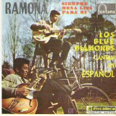 Discos de vinilo: LOS BLUE DIAMONDS CANTAN EN ESPAÑOL - RAMONA / SIEMPRE / MONA LISA / PARA MI ***EP *** FONTANA 1961. Lote 11537621