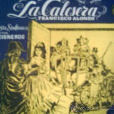 Discos de vinilo: MANUEL AUSENSI Y OTROS,LA CALESERA. Lote 9211351