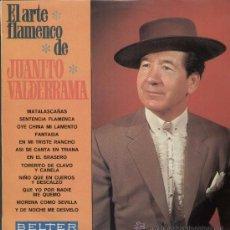 Discos de vinilo: JUANITO VALDERRAMA / EL ARTE FLAMENCO (LP BELTER DE 1969). Lote 13030933