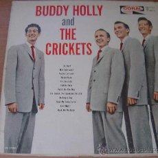 Discos de vinilo: BUDDY HOLLY & THE CRICKETS (1962) ORIGINAL USA MUY RARO!! ELVIS PRESLEY, GENE VINCENT, EDDIE COCHRAN. Lote 26628399