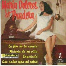 Discos de vinilo: MARIA DOLORES PRADERA - FLOR CANELA *** EP ZAFIRO 1961. Lote 13515567
