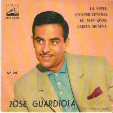 Discos de vinilo: JOSE GUARDIOLA - ESTANDO CONTIGO *** EP LA VOZ DE SU AMO 1961. Lote 11306085