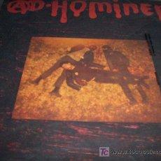 Discos de vinilo: IÑOR + AD HOMINEM: SPLIT LP DAMITOR 1987 PUNK IBERICO RARO. Lote 27458515