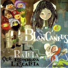 Discos de vinilo: CONTES INFANTILS-BLANCANEUS-LA RATETA QUE ESCOMBRAVA L `ESCALETA-DISCOPHON 1.962. Lote 14790284