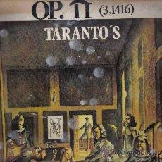Discos de vinilo: LP TARANTO´S - OP.II (3.1416) - MIEMBROS DE PEKENIKES. Lote 17703494
