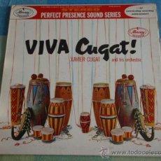 Discos de vinilo: XAVIER CUGAT AND HIS ORCHESTRA ( VIVA CUGAT! ) CHICAGO - USA LP33 MERCURY RECORDS. Lote 10836523