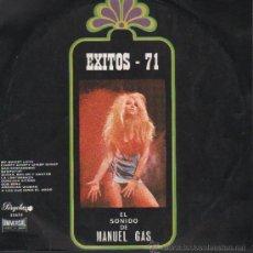 Disques de vinyle: EXITOS 71 EL SONIDO DE MANUEL GAS DISCO DE 10 PULGADAS. Lote 9301012