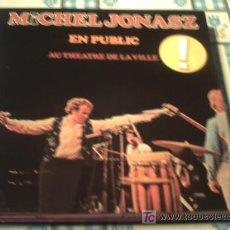 Discos de vinilo: MICHAEL JONASZ.EN PUBLIC AU THEATRE DE LA VILLE/LP/ATLANTIC/1978/ PEPETO. Lote 27414546