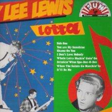 Discos de vinilo: JERRY LEE LEWIS - WHOLE LOTTA SHAKIN **** EDITADO POR SERDISCO 1989. Lote 11605597