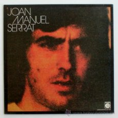 Discos de vinilo: JOAN MANUEL SERRAT ··· JOAN MANUEL SERRAT - (LP 33 RPM). Lote 20116559