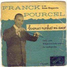 Discos de vinilo: 1959 FRANCK POURCEL Y SU GRAN ORQUESTA. Lote 26468877