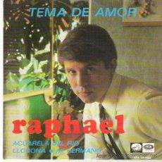 RAPHAEL - TEMA DE AMOR *** EP** EMI 1967