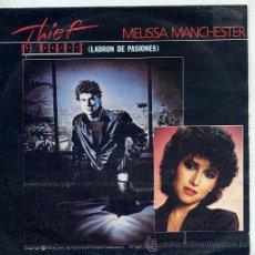 Discos de vinil: THIEF OF HEARTS - MELISSA MANCHESTER / THIEF OF HEARST - G.MORODER / INSTRUMENTAL (85). Lote 9351544