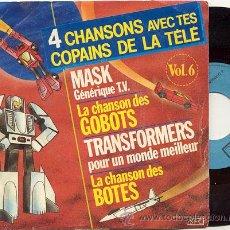 Discos de vinilo: EP 45 RPM / 4 CHANSONS DE LA TELE / 4 CANCIONES DE LA TELE // EDITADO POR SFC . Lote 18708329