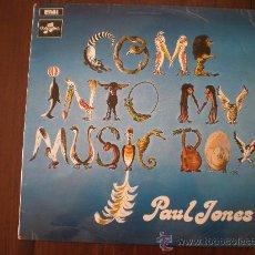 Discos de vinilo: PAUL JONES - COME INTO MY MUSIC BOX - (UK-COLUMBIA-1969) MANFRED MANN - R&B POP PSYCH LP. Lote 20625844