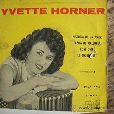 Discos de vinilo: IVETTE HORNER. Lote 11915547