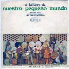 Discos de vinilo: NUESTRO PEQUEÑO MUNDO -SONOPLAY- 1968 - SINNNER MAN,ME CASO MI MADRE.... Lote 236900225