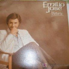 Discos de vinilo: EMILIO JOSE / VICTORIA - CON AUTOGRAFO. Lote 26286945