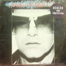 Discos de vinilo: ELTON JOHN-VICTIM OF LOVE LP 1979. Lote 9430475