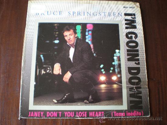 BRUCE SPRINGSTEEN - I'M GOING DOWN / JANEY, DON'T YOU LOSE HEART /...- (ESPAÑA-CBS-1985) MAXI LP (Música - Discos de Vinilo - Maxi Singles - Pop - Rock Extranjero de los 70)