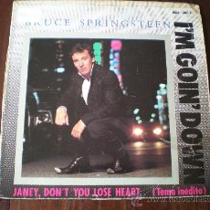 Discos de vinilo: BRUCE SPRINGSTEEN - I'M GOING DOWN / JANEY, DON'T YOU LOSE HEART /...- (ESPAÑA-CBS-1985) MAXI LP. Lote 23338362
