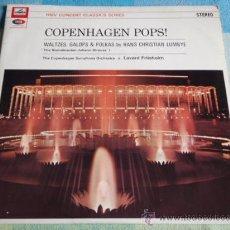 Disques de vinyle: THE COPENHAGEN SYMPHONY ORCHESTRA BY LAVARD FRIISHOLM (COPENHAGEN POPS!; WALTZES,POLKAS & GALOPS). Lote 9443084