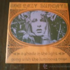 Discos de vinilo: LAZY SUNDAYS - A SHADE IN THE LIGHT / GONG WITH THE LUMINOUS NOSE - (SUBTERFUGE-199?) MOD PSYCH. Lote 17550219