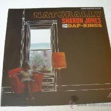 Vinyl records - LP SHARON JONES & THE DAP KINGS NATURALLY AMY WINEHOUSE VINILO SOUL DAPTONE RECORDS - 10163291