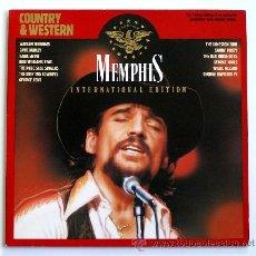 Discos de vinilo: COUNTRY & WESTERN - MEMPHIS INTERNATIONAL EDITION ··· VARIOS - (LP 33 RPM) ··· VINILO ROJO. Lote 181150726