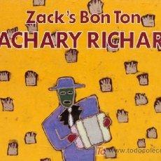 Discos de vinilo: ZACHARY RICHARD ··· ZACK'S BON TON - (LP 33 RPM) ··· NUEVO. Lote 20239618
