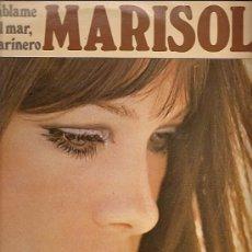 Discos de vinilo: MARISOL LP SELLO DISCOSA ZAFIRO AÑO 1981 HABLAME DEL MAR MARINERO. Lote 9477715