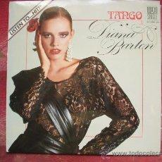 Discos de vinilo: DIANA BARTON -TANGO - MAXI SINGLE - LIQUIDO. Lote 12422020