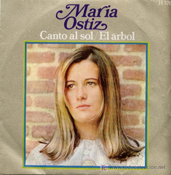 MARÍA OSTIZ (Música - Discos - Singles Vinilo - Cantautores Españoles)