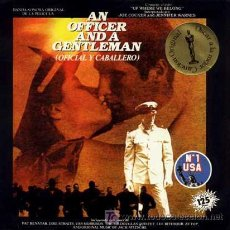 Discos de vinilo: JOE COCKER ··· UP WHERE WE BELONG / SWEET LITTLE WOMAN - (SINGLE 45 R) ·· BSO - OFICIAL Y CABALLERO. Lote 20431180