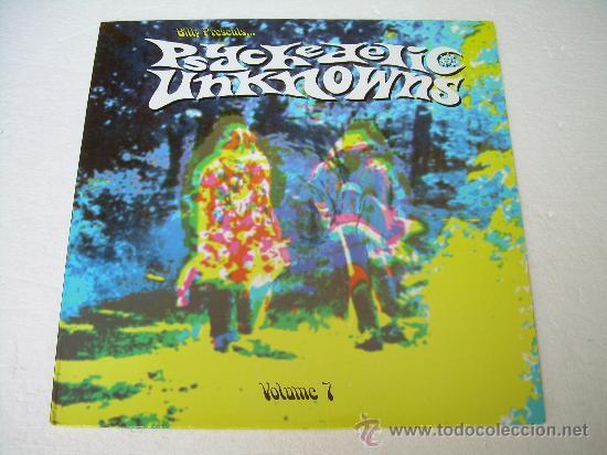LP VARIOS ARTISTAS - PSYCHEDELIC UNKNOWNS VOLUMEN 7 VINILO PSYCH (Música - Discos - LP Vinilo - Pop - Rock Extranjero de los 50 y 60)