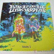 Discos de vinilo: LP VARIOS ARTISTAS - PSYCHEDELIC UNKNOWNS VOLUMEN 7 VINILO PSYCH. Lote 105172332