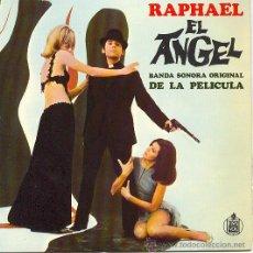 Discos de vinilo: RAPHAEL EP BANDA SONORA ORIGINAL EL ANGEL 1969 HISPAVOX SPA. Lote 9524601