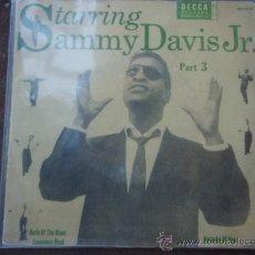 Discos de vinilo: SAMMY DAVIS JR. ?– STARRING SAMMY DAVIS JR. PART 3, SWEDEN 1956 EP DECCA. Lote 9551142