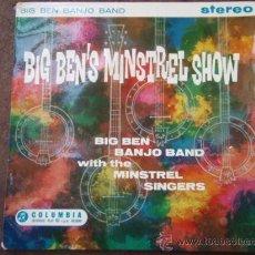 Discos de vinilo: BIG BEN BANJO BAND WITH THE MINSTREL SINGERS (ONTHE MISSISSIPPI - OH SUSANNA - ...) SINGLE45 COLUMBI. Lote 9551502