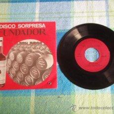 Discos de vinilo: BOLA DE NIEVE (LA VIE EN ROSE - BABALU - LA FLOR DE LA CANELA - MONASTERIO STA CLARA) 1969 EP45. Lote 10822714