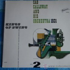 Discos de vinilo: CAB CALLOWAY AND HIS ORCHESTRA – 1931 - KINGS OF SWING VOL. 2, GERMANY EP BRUNSWICK. Lote 9560421