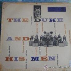 Discos de vinilo: DUKE ELLINGTON AND HIS ORCHESTRA ?– THE DUKE AND HIS MEN, GERMANY 1955 EP RCA. Lote 9561369