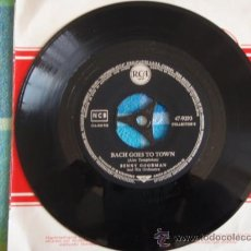 Discos de vinilo: BENNY GOODMAN & HIS ORCHESTRA ( FAREWELL BLUES - BACH GOES TO TOWN ) GERMANY SINGLE45 RCA. Lote 9569721