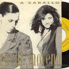 Dischi in vinile: SINGLE PROMO 45 RPM / AZUCAR MORENO / A CABALLO /// EDITADO POR EPIC . Lote 9571437