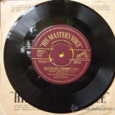 Discos de vinilo: THE MELACHRINO ORCHESTRA ( SELECTION FROM 'SHOW BOAT' PART 1 Y 2 ) ENGLAND SINGLE45 HMV. Lote 9572118