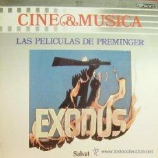 Disques de vinyle: BSO-LAS PELICULAS DE PREMINGER (CINE Y MUSICA 55) LP 1987 SPAIN. Lote 58679732