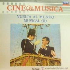Disques de vinyle: BSO-VUELTA AL MUNDO MUSICAL II (MUSICA Y CINE 27) LP 1987 SPAIN. Lote 9589995