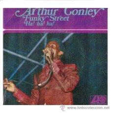 Discos de vinilo: ARTHUR CONLEY SINGLE FUNKY STREET 1968 H.310 SPA. Lote 9591131